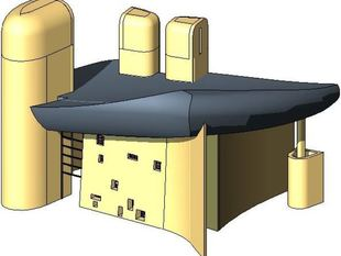 Ronchamp by Le Corbusier