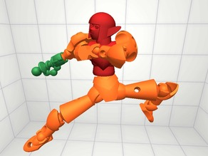 Samus Aran & a Metroid for the Modio Challenge