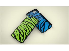 Iphone 7 Case - Tiger Stripes Dual Extrusion