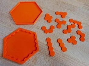 Tetrahex Puzzle