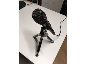 Microphone Holder with GoPro mount