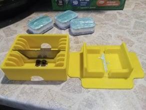 Divider tablets for dishwasher