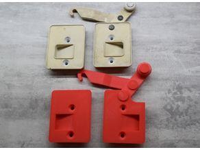 PVC Shutter lock replacement