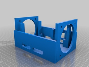 prusa i4 MKS Base V1.4 box fan 80x80 mm