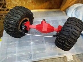 Spider 9 inspired TLT axle housing