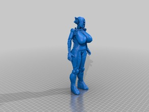 Boobytron- a Assultron with boobs