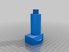 Barrel Support for Airsoft Mk23 Carbine kit