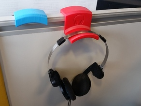 Office headphones hanger