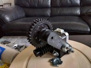 Smaller Worm Gear set for Nema17