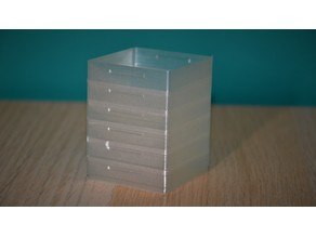 Small Stackable Vase Box