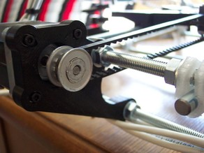 Easy on, No Idler Prusa Y motor holder