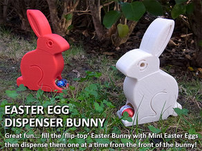 Easter Egg Dispenser Bunny