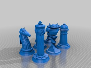 Galactic Chess Set