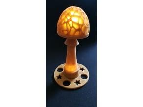 double led mushroom