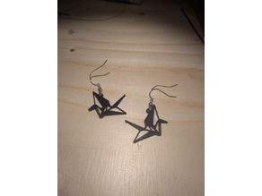 Cranebird Earring