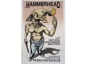 Derek Hess - Hammerhead Figure
