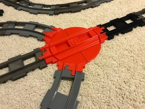 Lego Duplo Train Turntable
