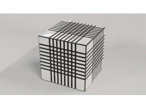 9x9 Bump Cube