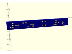 Braille font module EXPANDED - Nemeth