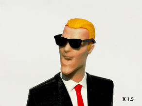 MAX HEADROOM for LP (33t) and desktop (NO GLUE)