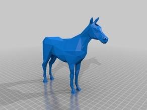 Low Poly Unicorn