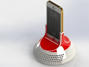 Acoustic IPhone Holder/Speaker