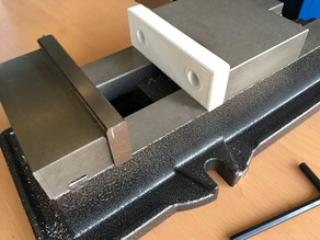 """Soft jaws for 4"""" milling vise"""