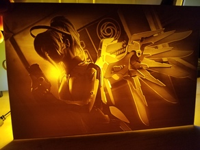 Mercy Lithophane