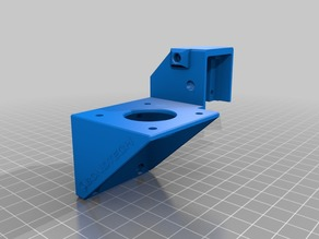 Bondtech Extruder and filament sensor braket for CR-10S