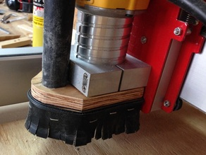 Shapeoko Dust Shoe for Dewalt DWP611