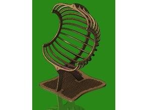 Laser cut chair