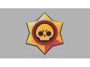 Brawl Stars Badge - fan art