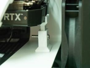 Height Adjustable Mini Gpu Stand (For NZXT H400i + MATX [42-47 mm])