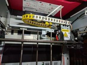 XYZ Da Vinci PRO 1.0 cable chain and mount