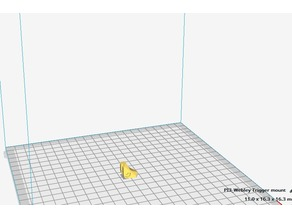 Webley Mastiff Trigger slide.