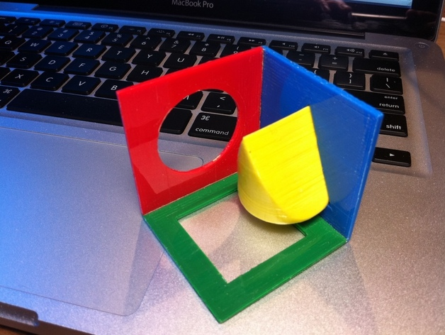 George Hart's Wedge Puzzle