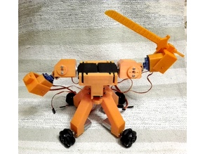 Omnidirectional Fighting Robot