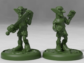Goblin Monk and Soldja
