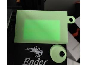 Ender 3 - Screen Cover / Nightshade
