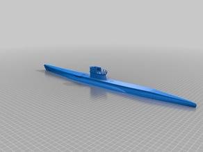 Waterline u-boat