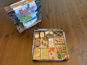 Robinson Crusoe Board Game Organizer