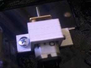 Gear motor mounting bracket