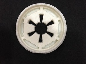 Star Wars Empire logo cookie cutter