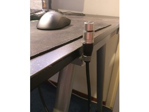 XLR cable holder