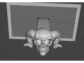Demon Skull (v3 by Arkleseizure) Hitch Cover - 2-inch