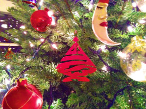 Jesus Christmas Tree Ornament