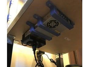 Ender 3 / Ender 3 Pro - Underside PSU Mount