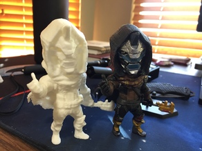 Cayde-6 Model 3D Scan