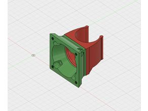 40 x 40mm Extruder Fan Adaptor for J-head or Clone ED3V6
