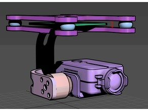 2 Axis gimbal for BGC board